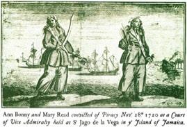 Description : The Ballad of Mary Read and Anne Bonny | The Baja Brigade
