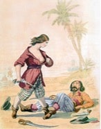 Description : Mary Read, le combat à armes égales – L'Histoire par les femmes