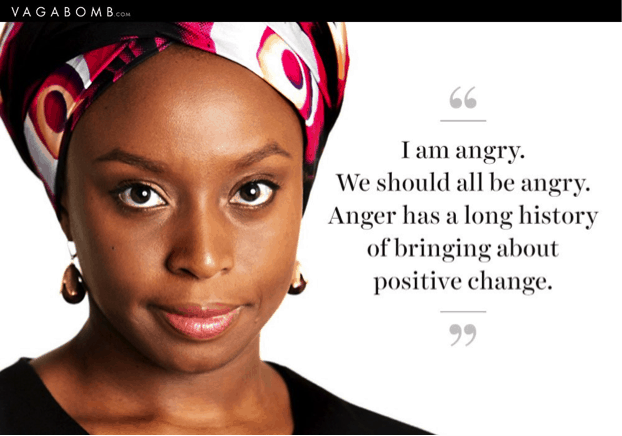 Description : Girls Will Be - Love this quote from Chimamanda Ngozi... | Facebook